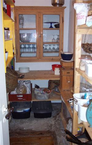 Der er ryddet op i spisekammeret